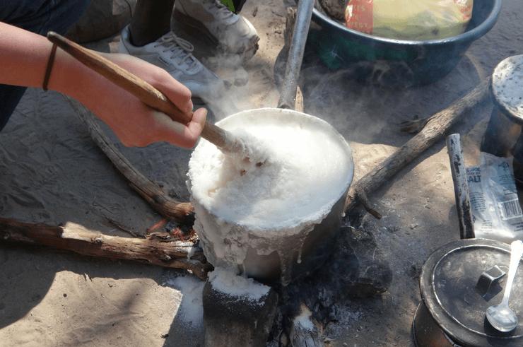 Zambian Food Nshima