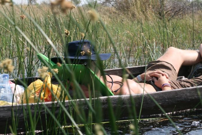 Okavango Delta Mokoro River