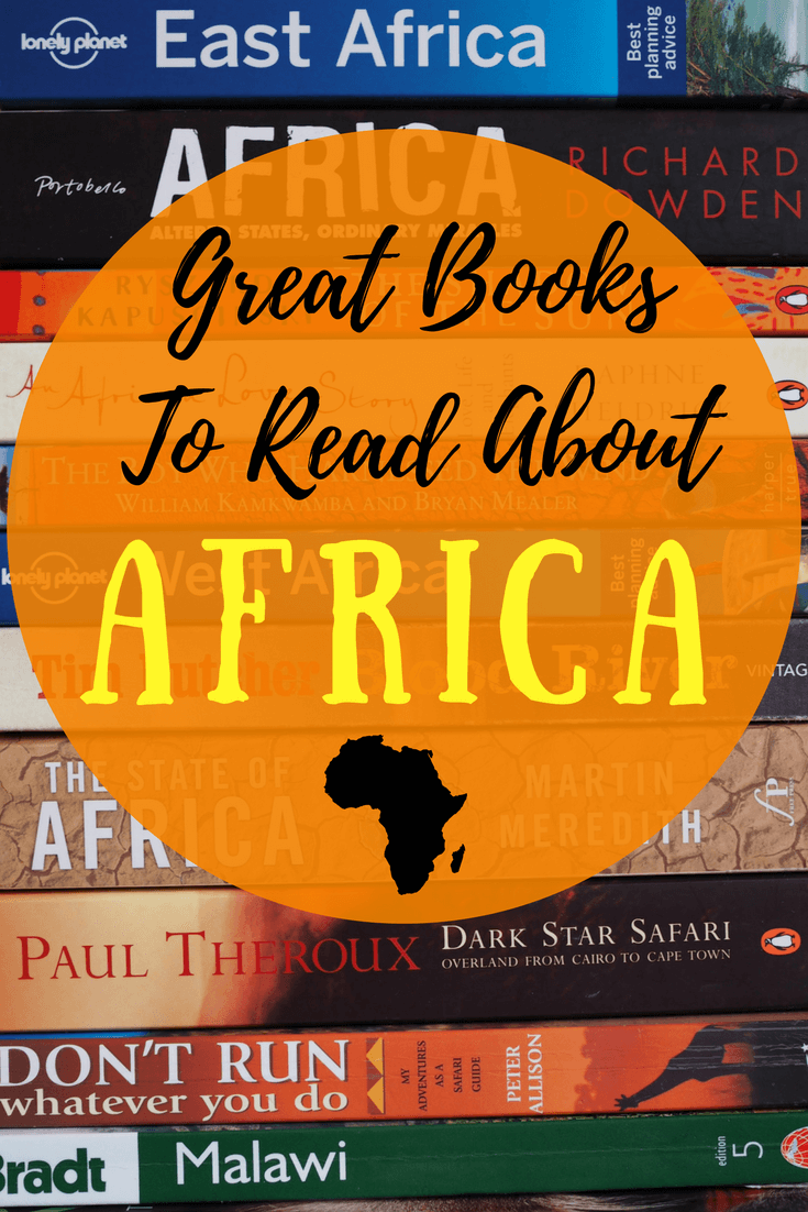 Looking for some great books about Africa? Try these!