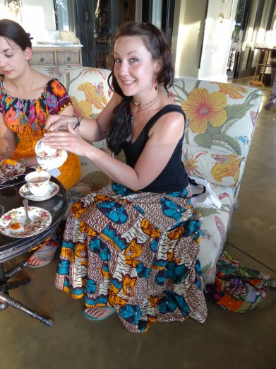 High Tea at The Royal Livingstone Afternoon Tea Zambia