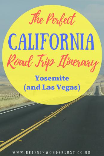 The Perfect California and Las Vegas Road Trip