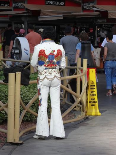Yosemite and Las Vegas Elvis