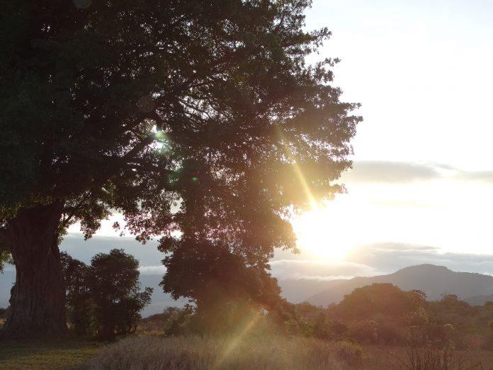 Sunrise over the Ngorongoro Crater