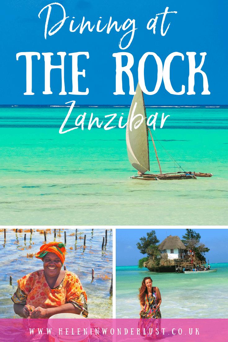 Dining at The Rock Zanzibar - Essential Info