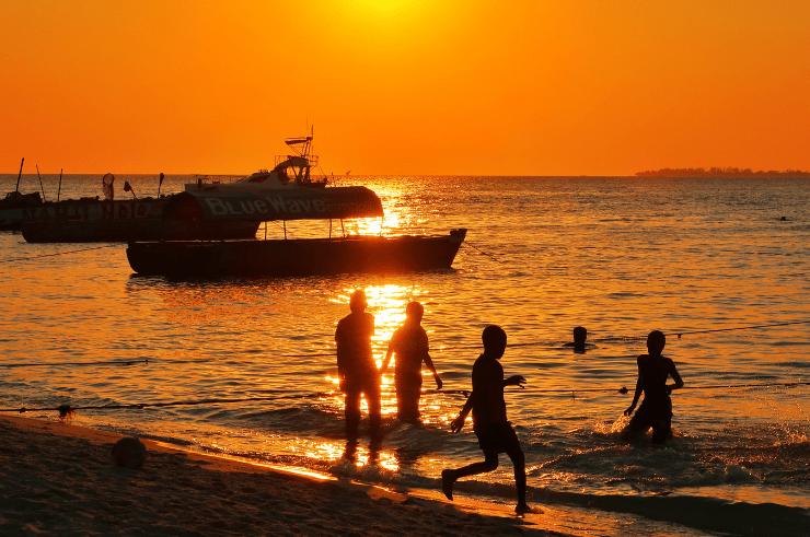 Sunset, Stone Town, Zanzibar