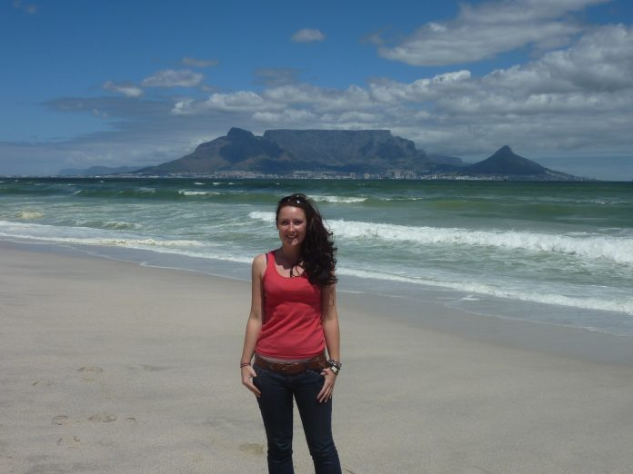 View of Cape Town - Helen in Wonderlust