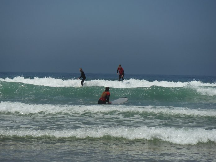 Surfing - Tamraght, Morocco - www.heleninwonderlust.co.uk