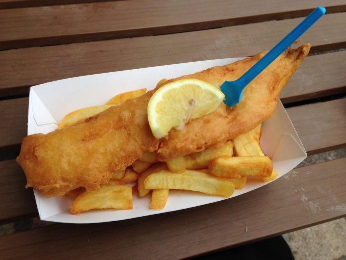 Weekend in North Wales, Fish and Chips in Llandudno