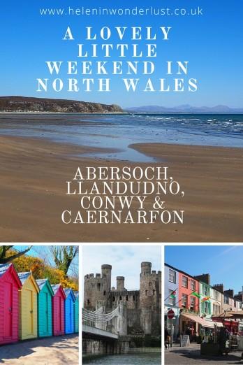 Itinerary for North Wales: Abersoch, LLandudno, Conwy & Caernarfon