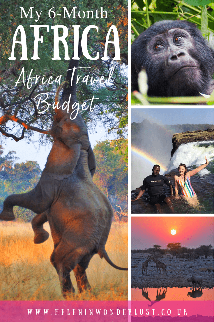 Trying to work out your Africa travel budget? Here's how much 6 months of travel in Africa cost me!