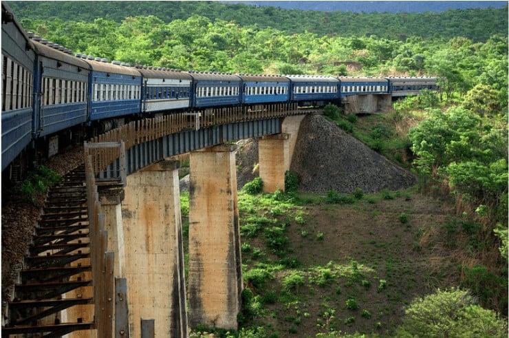 Tazara Train - Zambia