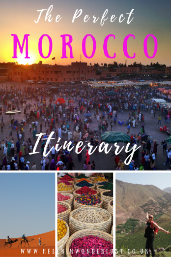 The Perfect Morocco Itinerary