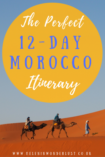Perfect Morocco Itinerary