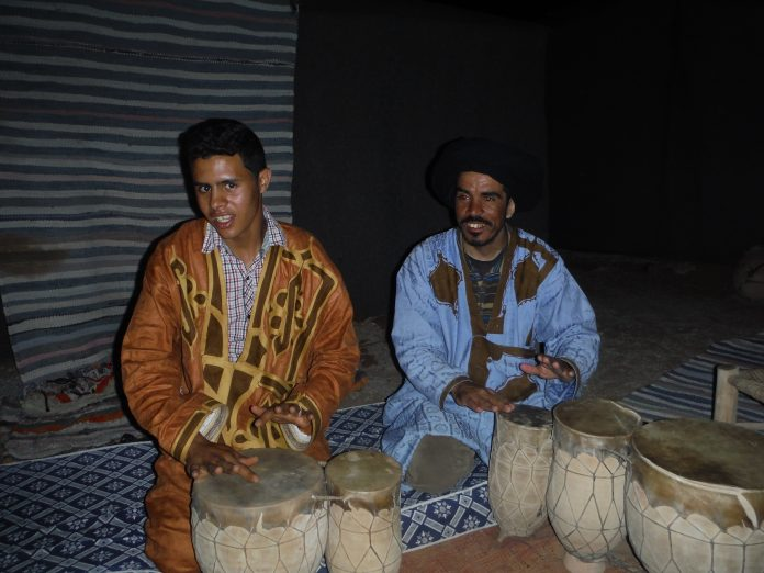 Berber Camp, the Sahara Desert, Morocco.