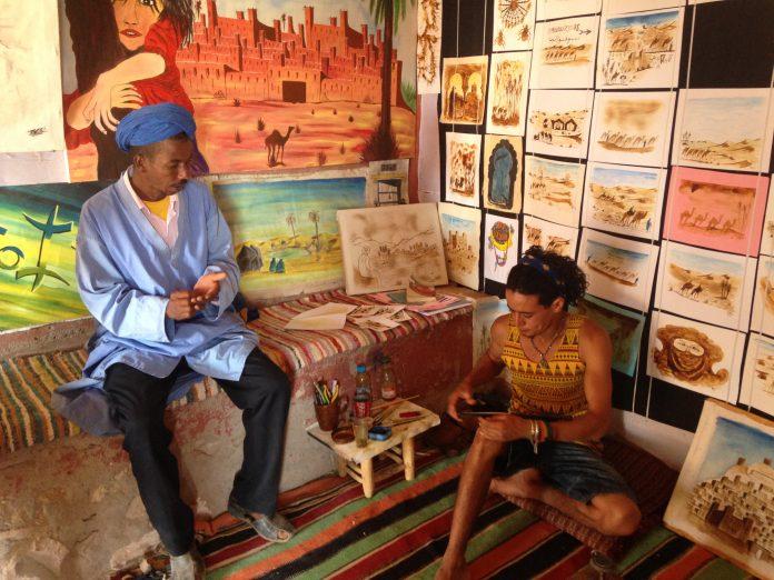 Aït Benhaddou, Morocco - a UNESCO World Heritage Site.