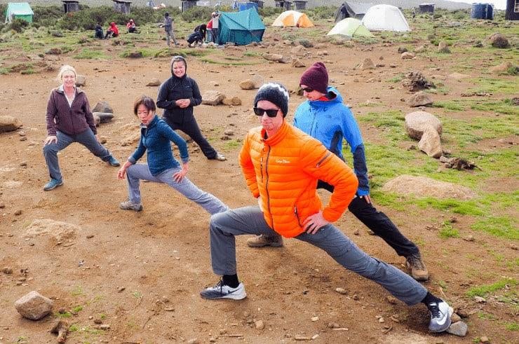 Yoga on Kilimanjaro