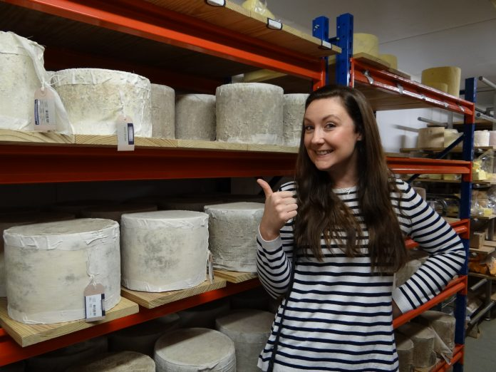 Cheese making at the Bodnant Welsh Food Centre