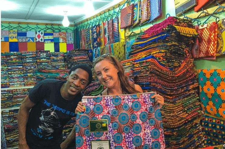 African Chitenge/Kitenge Fabric