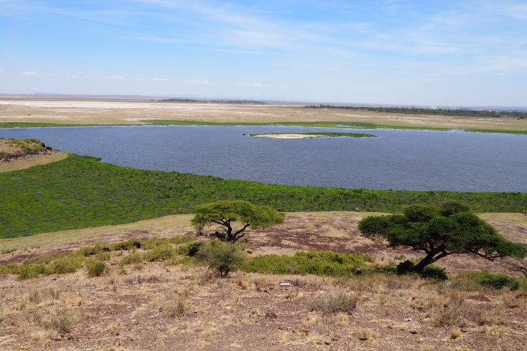 View from Observation Hill in Amboseli National Park