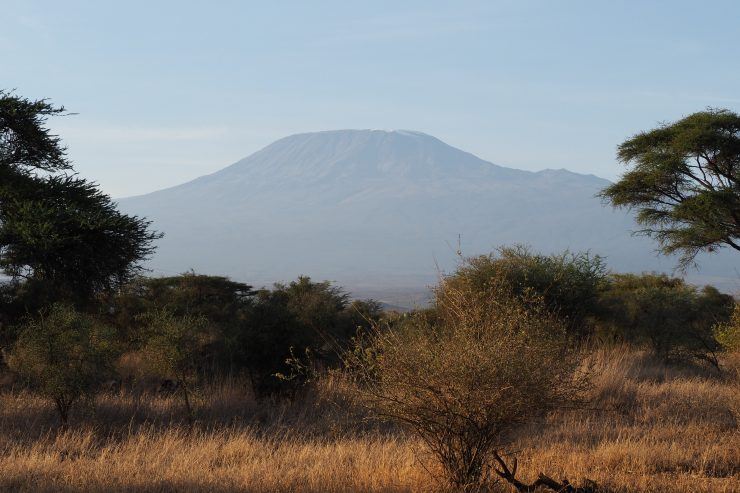 View of Kilimanjaro from Kimana Tented Camp