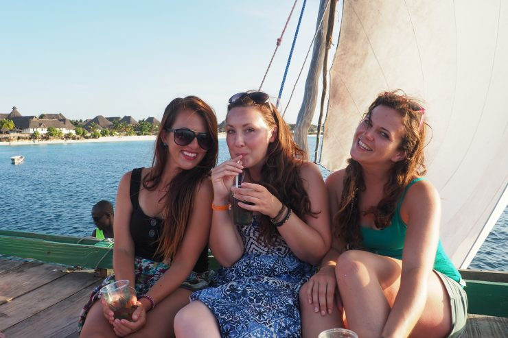 Sunset Cruise, Zanzibar - Backpacking Africa