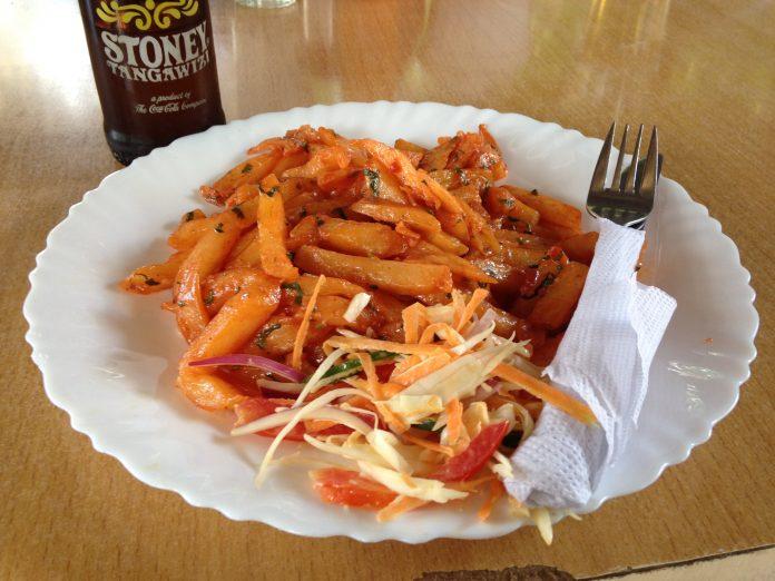 Kenyan Masala Chips