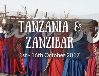 Tanzania & Zanzibar Small Group Adventure Tour