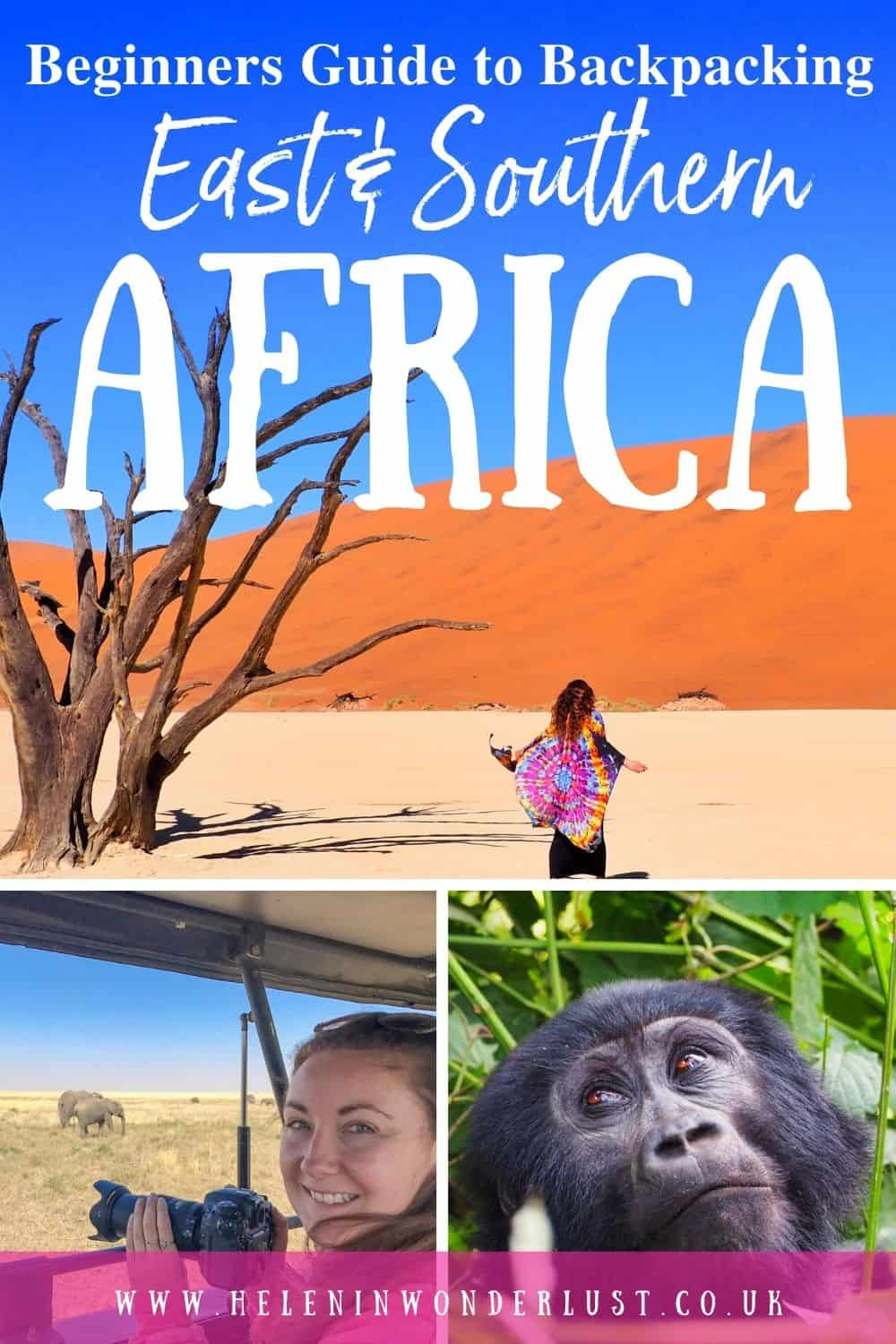 The Beginners Guide to Backpacking East & Southern Africa