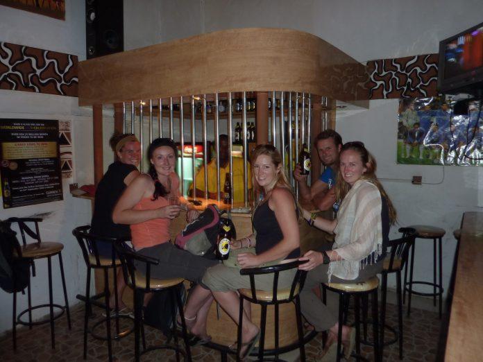 Kenyan Pub in Naivasha