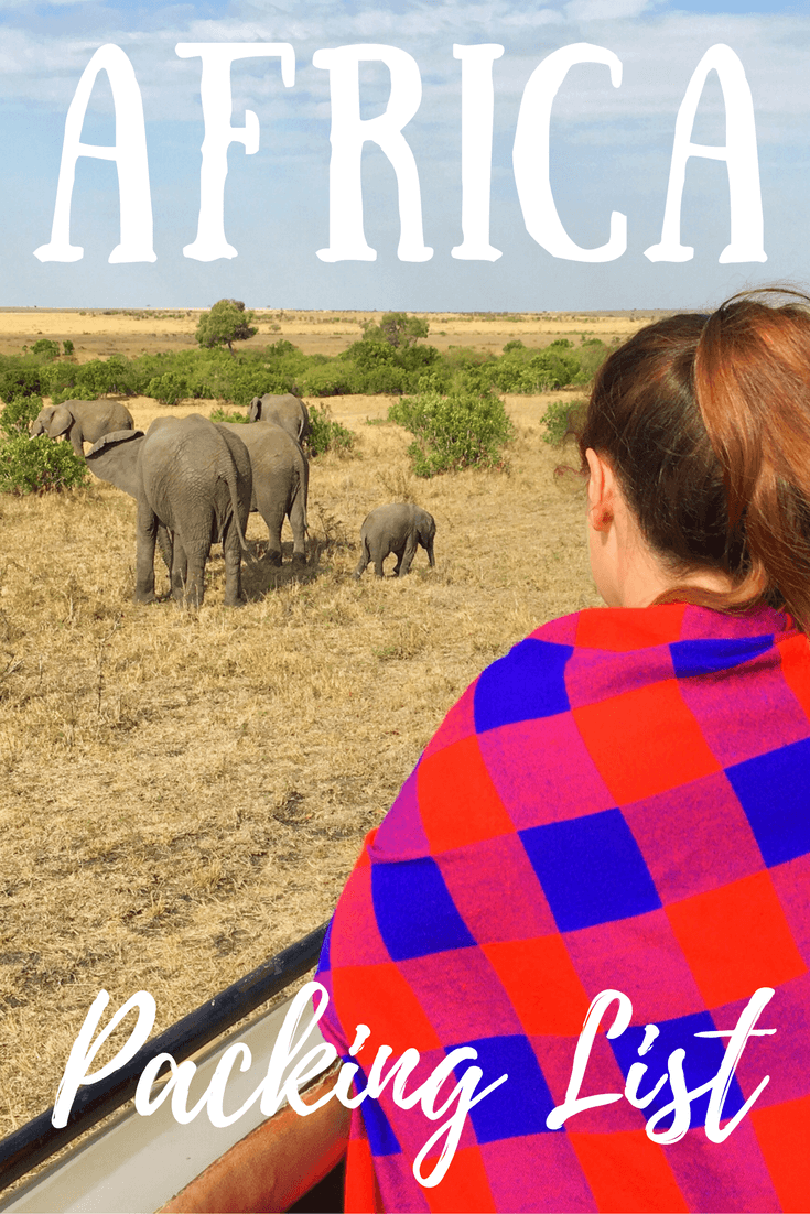 The Perfect Africa Packing List