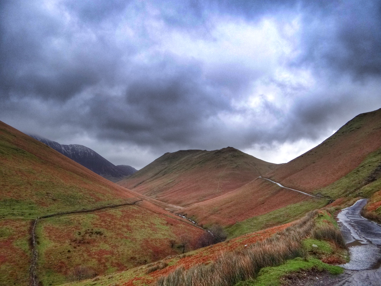 Newlands Pass - The Lake District