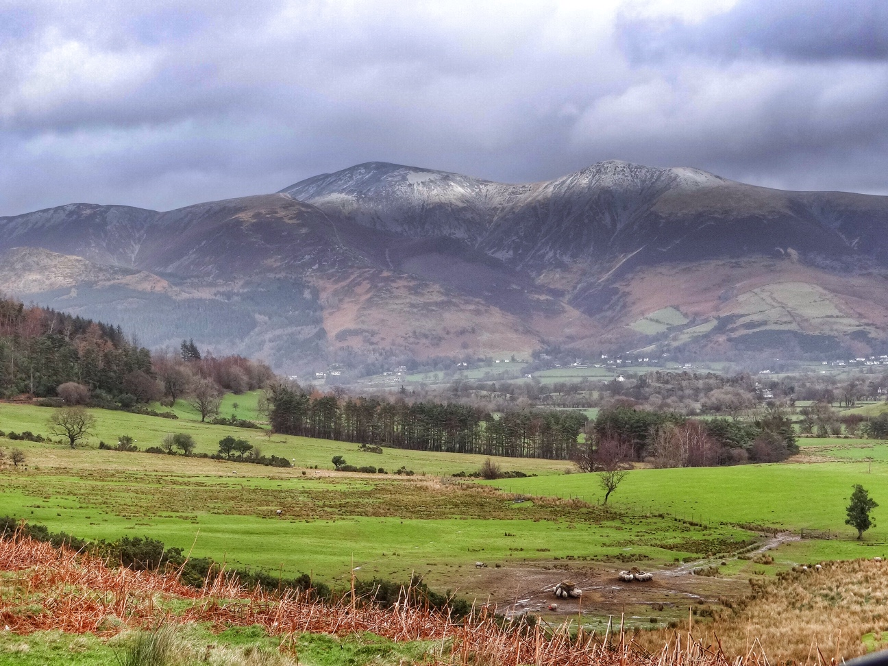 Newlands Valley, the Lake District.