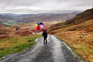 Hardknott Pass - The Lake District