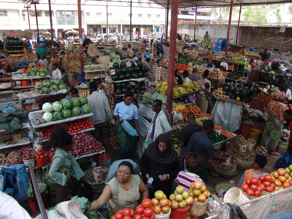 Arusha food market