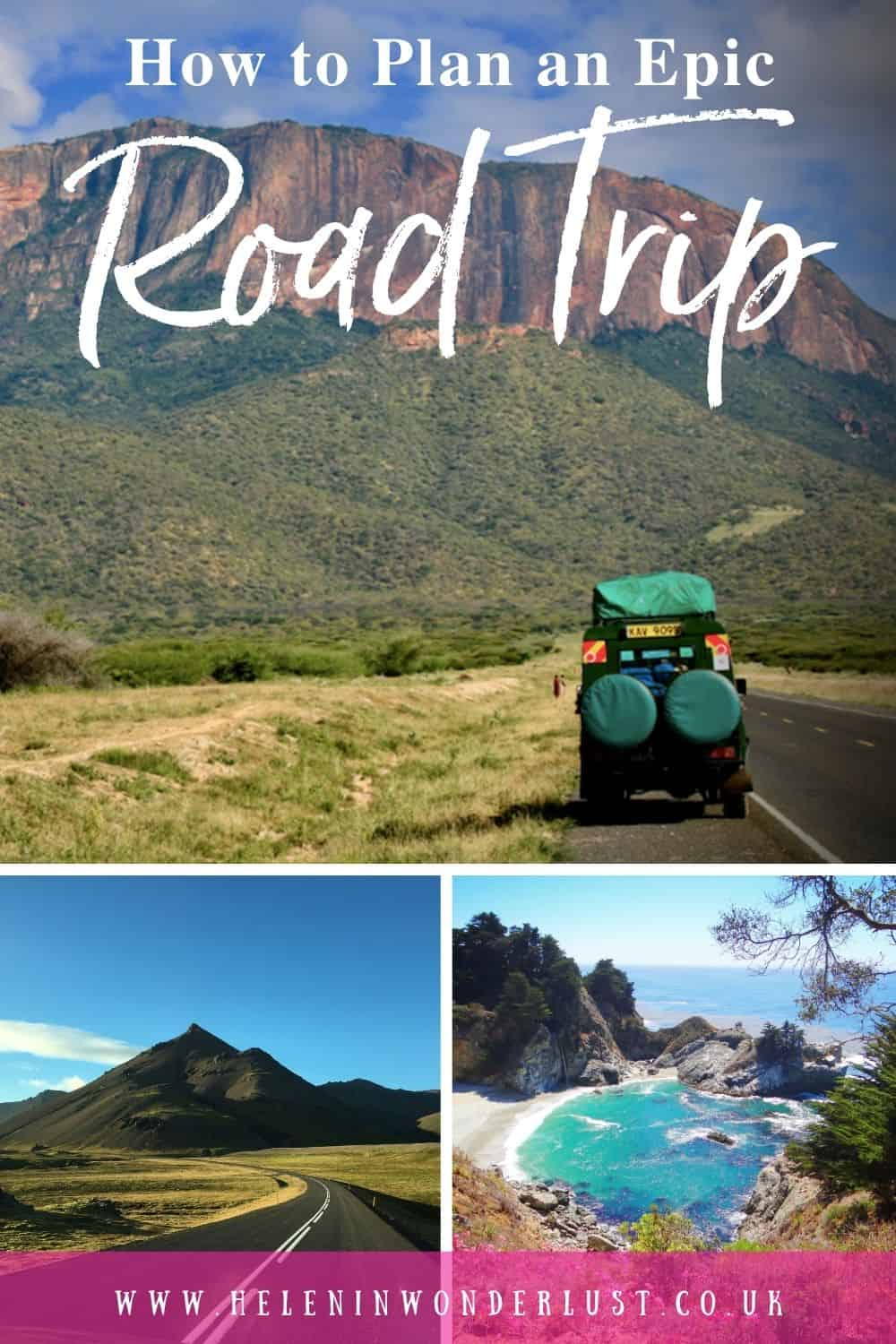 How To Plan an Epic Road Trip in 14 Easy Steps