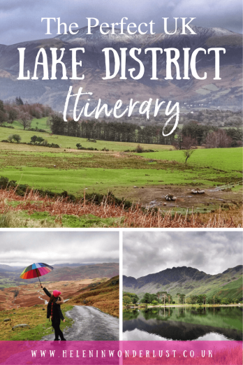 Here's my perfect UK Lake District road trip itinerary with 14 of the best places to visit, with things to see and places to stay.