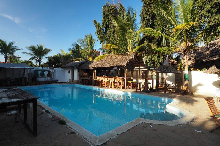 Tulia House Backpackers Mombasa Kenya.