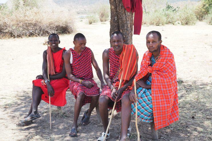 Maasai Village Visit