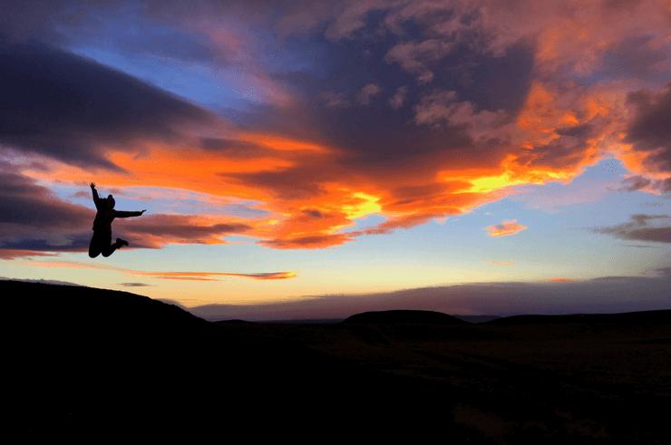 Icelandic Sunset in Winter