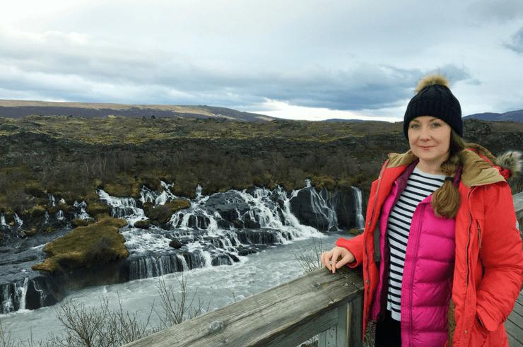 Barnafoss and Hraunfosser Iceland