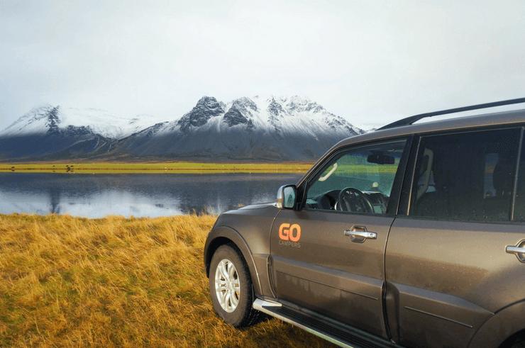 Go Campers Campervan in Iceland