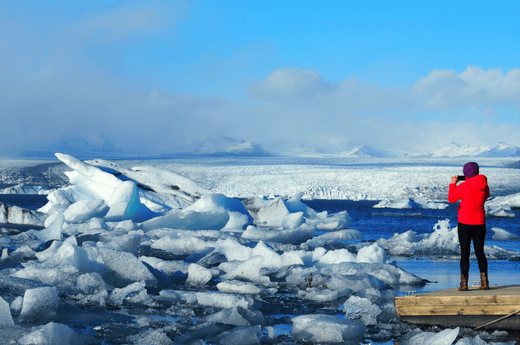 Jokulsarlong Glacier Lagoon in Iceland