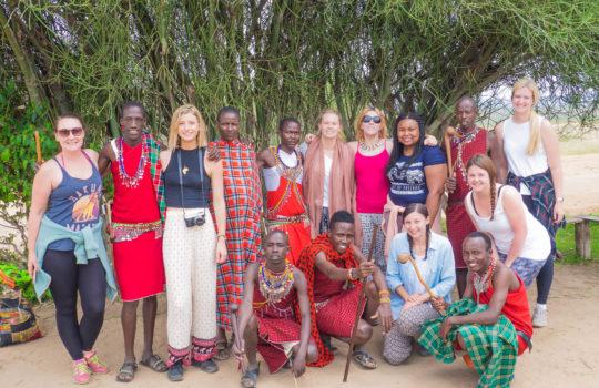 Maasai Mara - Maasai Village Visit