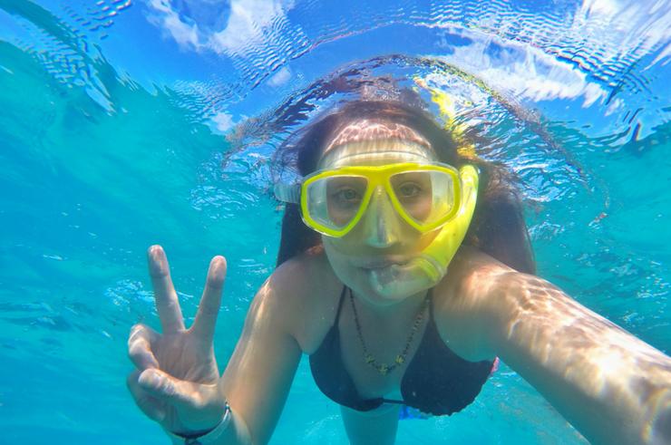 Snorkelling Indian Ocean