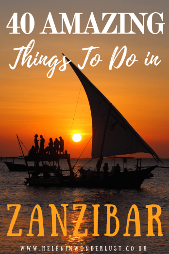 Amazing Things To Do in Zanzibar