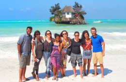 Tanzania Group Tour - The Rock Zanzibar