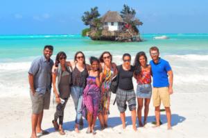 Tanzania Group Tour - The Rock Zanzibar