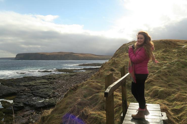 Helen in Wonderlust in Scotland