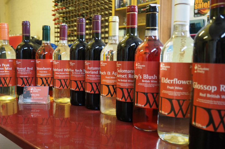 The Derbyshire Winery - Wine Tasting