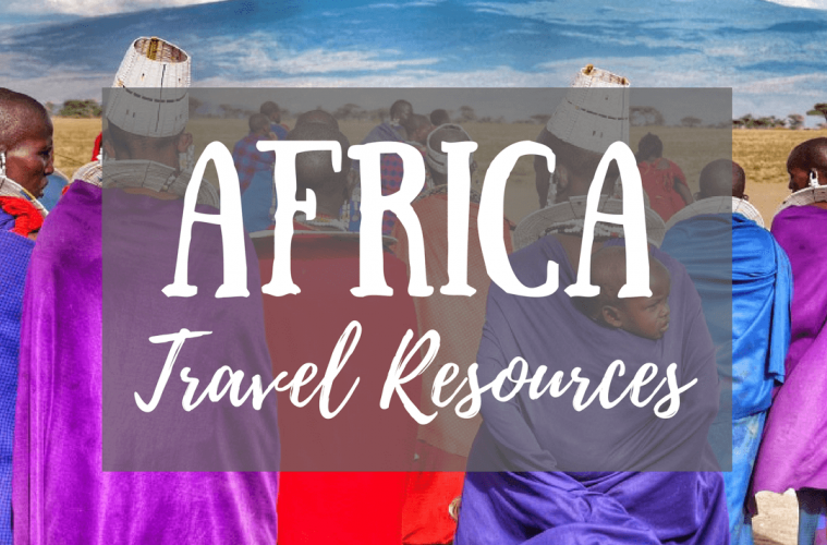 An amazing list of AFRICA TRAVL RESOURCES to help you plan the trip of you dreams!